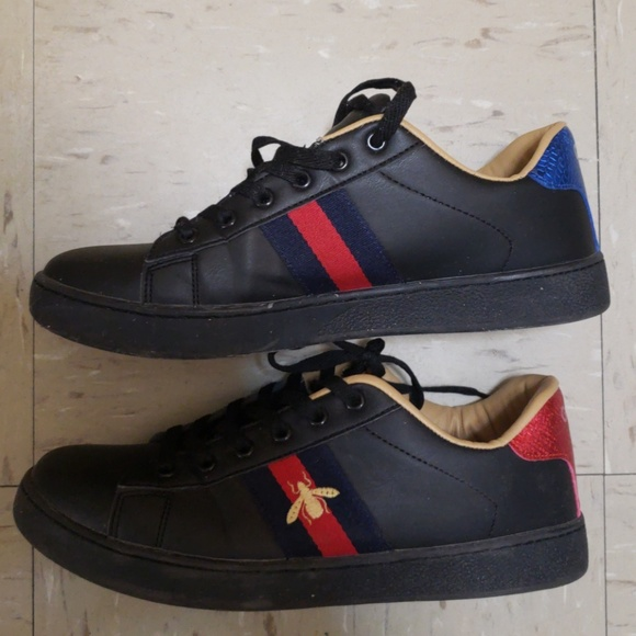 485b3e19c4b Gucci Other - Used mens Gucci Ace bee sneakers 8 8.5